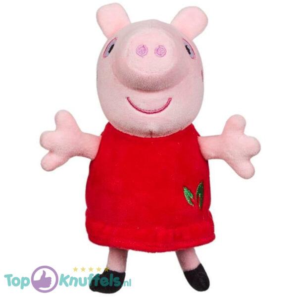 Peppa Pig Pluche Knuffel (Rood) 17 cm (Milieuvriendelijke knuffels)