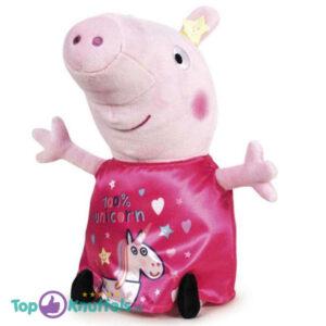 Peppa Pig Fluweel Roze Pluche Knuffel 30 cm