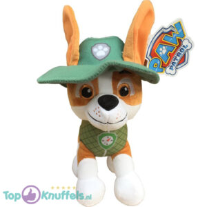 Paw Patrol Jungle Rescue Pluche Knuffel Tracker 30 cm