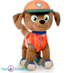 Paw Patrol Jungle Rescue Pluche Knuffel Zuma 30 cm