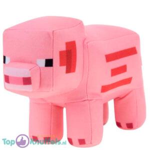 Minecraft Pig Varkentje Pluche Knuffel 22 cm