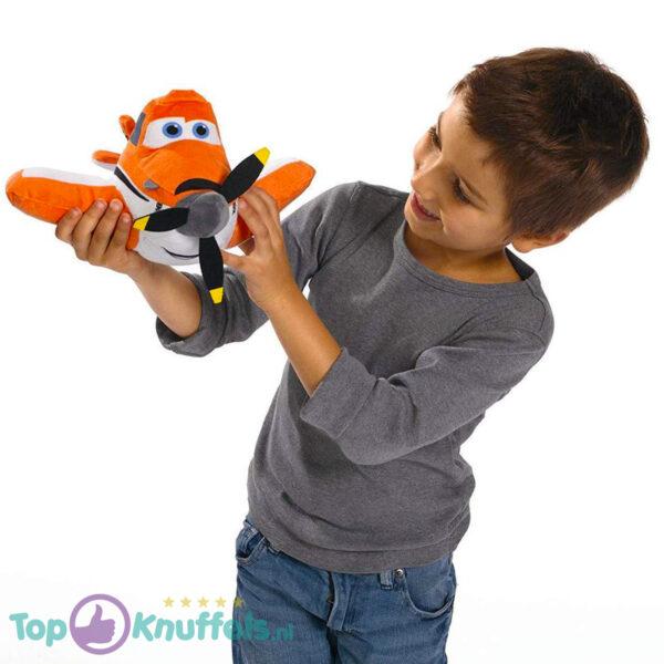 Disney Planes Pluche Knuffel Dusty (Oranje) 30 cm