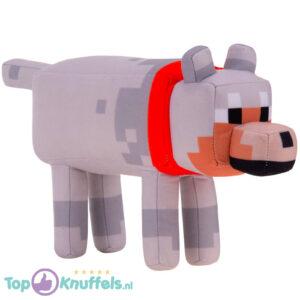 Minecraft Wolf Pluche Knuffel 22 cm