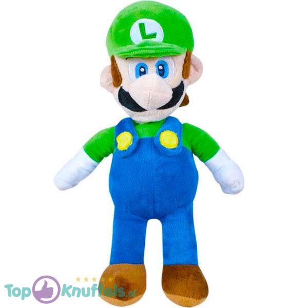 Super Mario Bros Pluche Knuffel Luigi (Groen) 30 cm