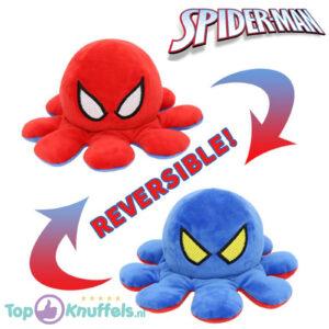 Spiderman Octopus Mood Pluche Knuffel (Reversible/Omkeerbaar)