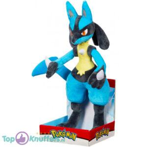 Pokemon Lucario Pluche Knuffel 32 cm
