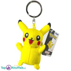 Pokemon Tomy Pluche Knuffel Sleutelhanger Pikachu 10 cm