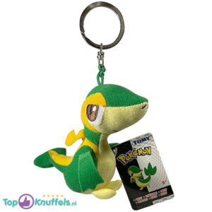 Pokemon Tomy Pluche Knuffel Sleutelhanger Snivy 10 cm