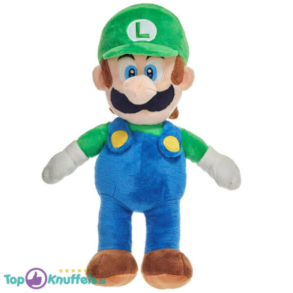 Super Mario Bros Pluche Knuffel Luigi XXL 60 cm