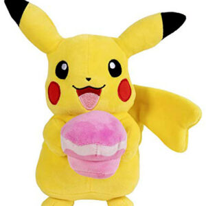 Pikachu met Cupcake pluche Pokémon knuffel 25cm (Limited Edition)