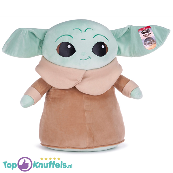 Star Wars The Mandalorian Pluche Knuffel Baby Yoda XXL 75 cm