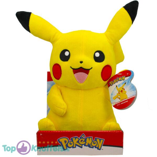 Pikachu Pokémon Wave Pluche Knuffel 32 cm