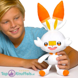 Scorbunny Pokémon Pluche Knuffel 30 cm
