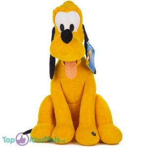Disney Pluche Knuffel Mickey Mouse Pluto + Geluid 52 cm