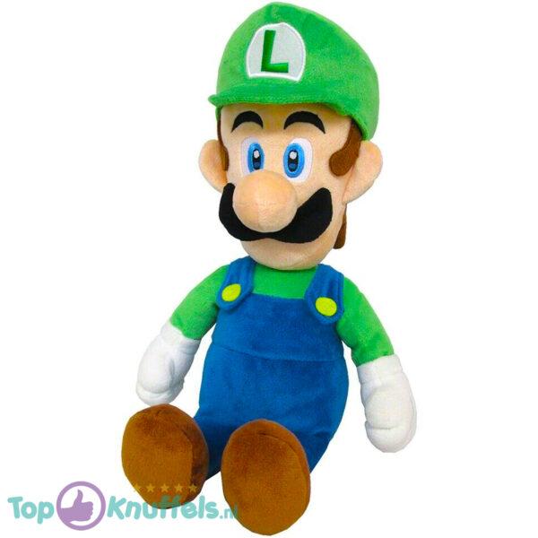 Super Mario Bros Pluche Knuffel Luigi (Staand 40 cm)