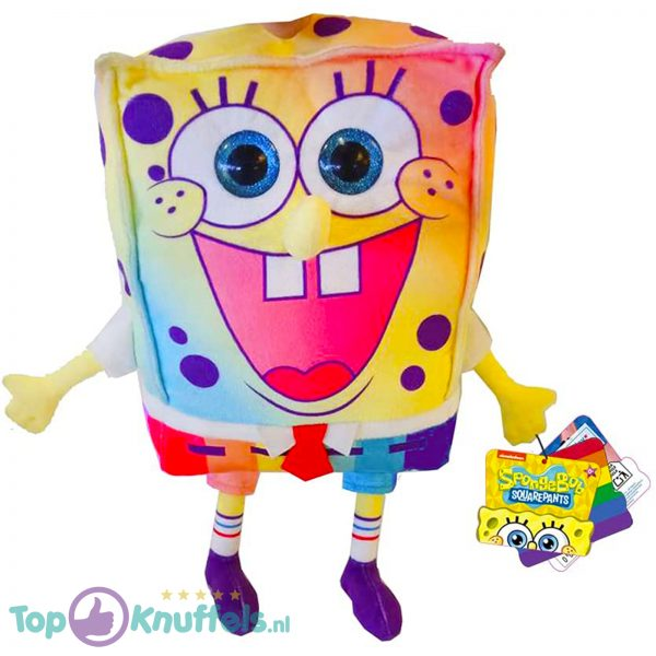 Spongebob Squarepants Regenboog Pluche Knuffel 30 cm
