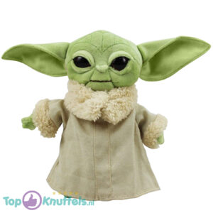 Star Wars The Mandalorian - Baby Yoda The Child (Donkergroen) 30 cm