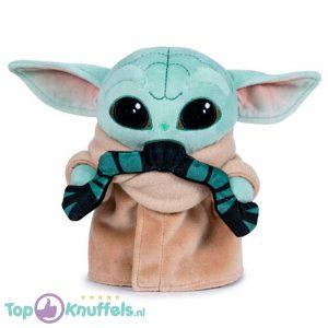Baby Yoda Child met Kikker Pluche Knuffel Star Wars The Mandalorian 17 cm
