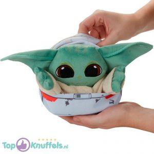 Baby Yoda The Child in Hover-Pram Pluche Knuffel 25 cm