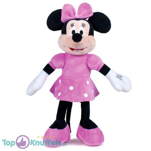 Minnie Mouse Roze Disney Junior Mickey Mouse Pluche Knuffel XL 60 cm