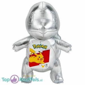 Charmander Zilver Pokémon 25th Anniversary Pluche Knuffel 24 cm