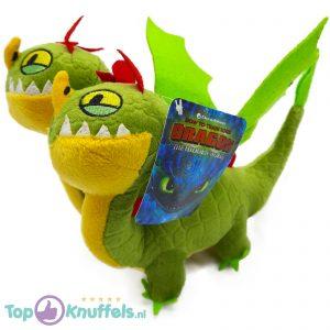 Barf & Belch Groen - Hoe tem je een Draak / How to train your Dragon Pluche Knuffel 26 cm