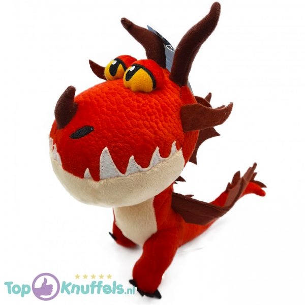 Hookfang Rood - Hoe tem je een Draak / How to train your Dragon Pluche Knuffel 26 cm