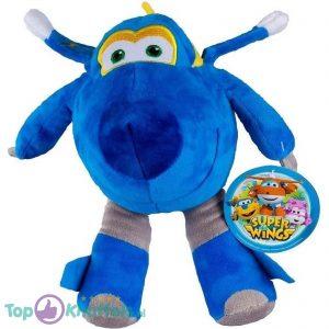 Jerome (Blauw) Super Wings Pluche Knuffel 30 cm