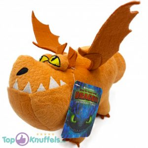 Meatlug Bruin- Hoe tem je een Draak / How to train your Dragon Pluche Knuffel 26 cm