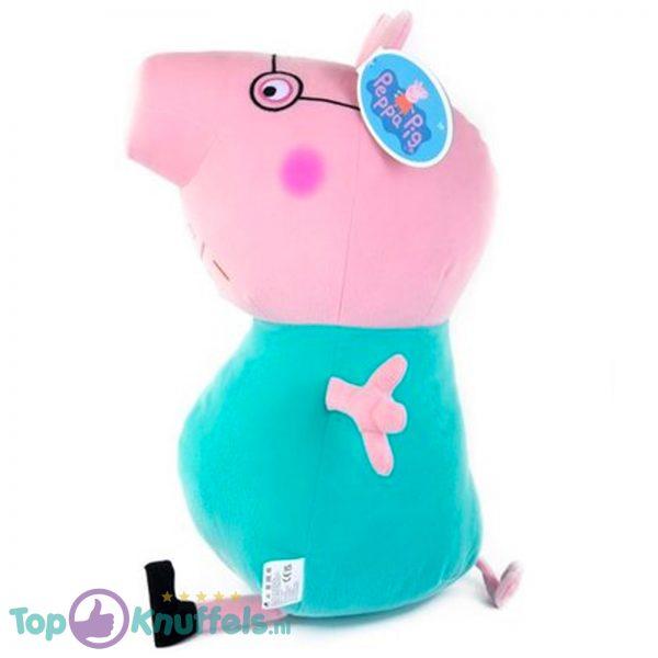 Papa Pig Pluche Knuffel Peppa Pig XL 50 cm